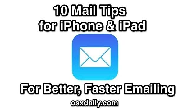 10 suggerimenti per la posta per iOS