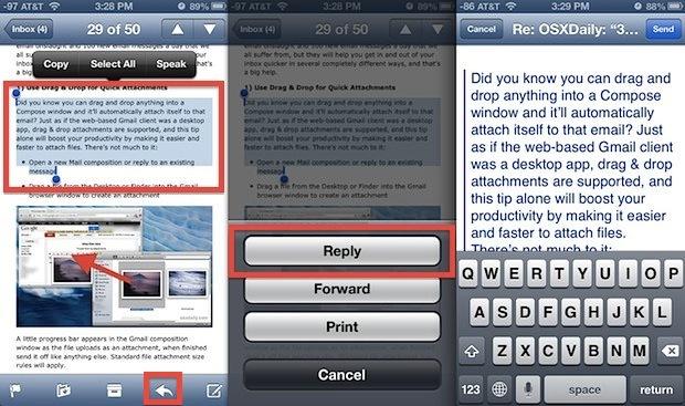 Citazioni intelligenti nelle risposte e-mail