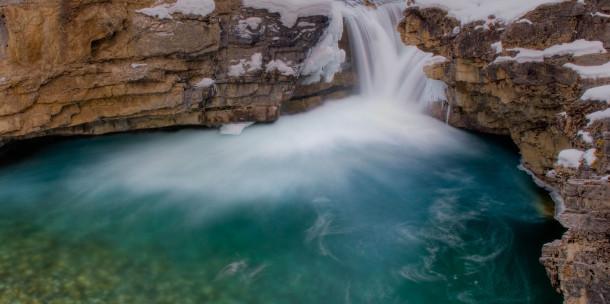 Otturatore a cascata aperto