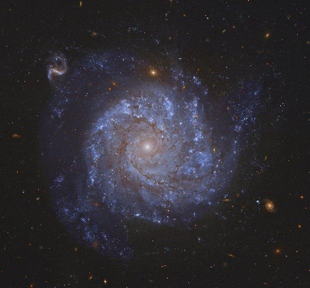 Carta da parati galassia a spirale