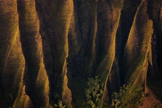 carta da parati del canyon di Kauai