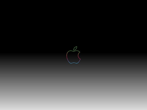anniversario-apple-logo-dark-gradient-wallpaper