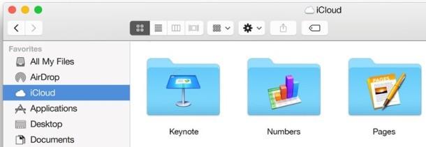 --finder-pulsanti Yosemite OS-X