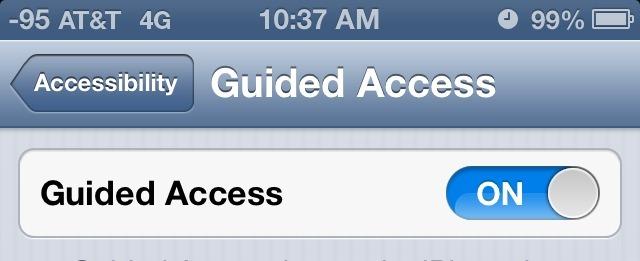 Accesso guidato