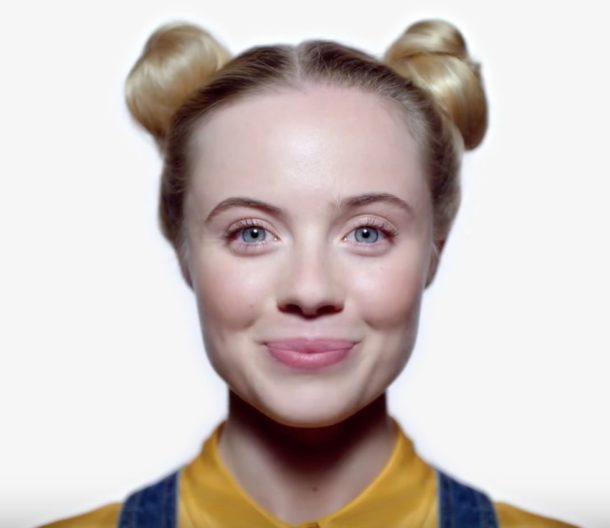 iPhone X your face è una password magica e indimenticabile per la pubblicità Face ID