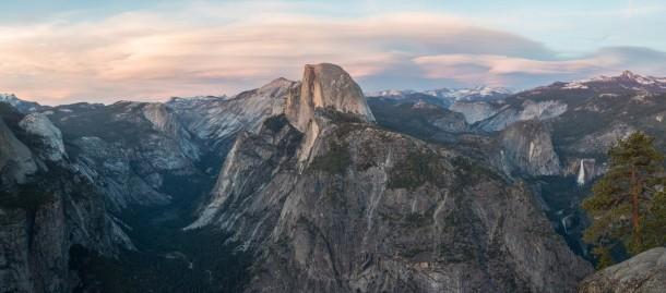Sfondo di Wikipedia Glacier Point