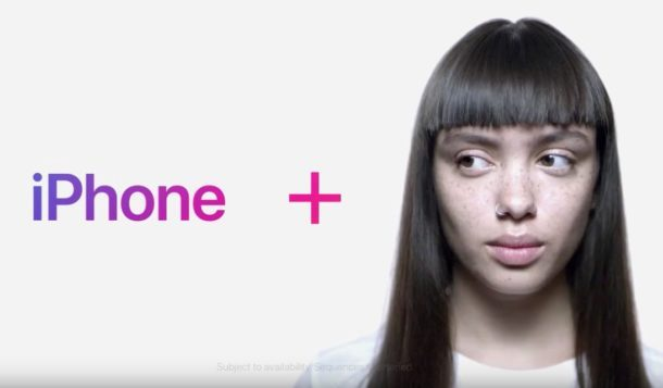 iPhone X face id commerciale