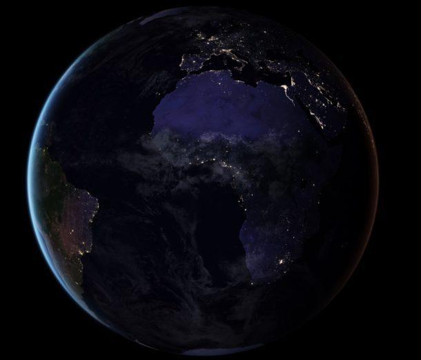 4 Sfondi Di Luci Notturne Della Terra Mozzafiato Della Nasa Itbookmac