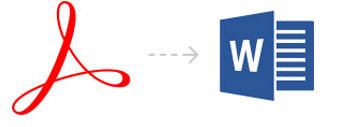 Conversione di Adobe PDF in DOC DOCX