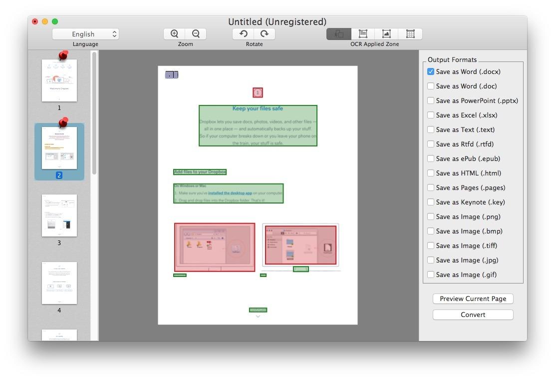 PDF Converter Tool per Mac funziona abbastanza bene