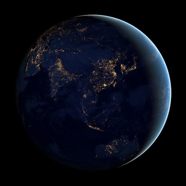 5 Incredibili Sfondi Della Terra Di Notte Da Un Satellite Della Nasa