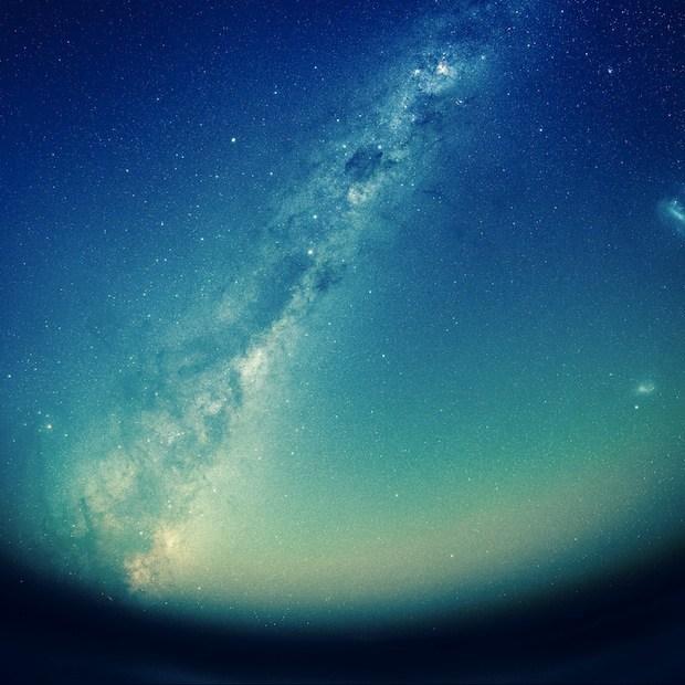 Milkway attraverso il telescopio