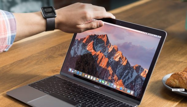 Sblocca un Mac con un Apple Watch