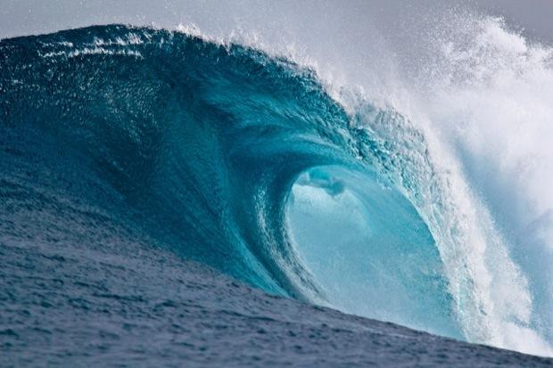 Carta da parati delle onde