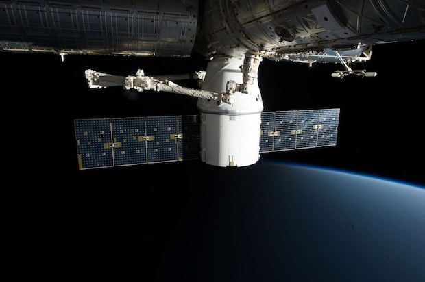 ISS e SpaceX