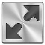 Icona della modalità Schermo intero per OS X