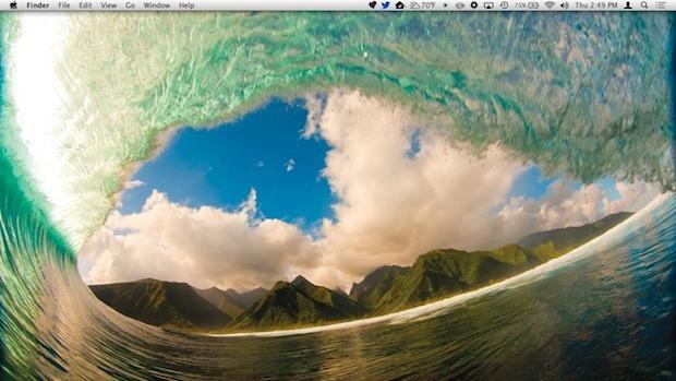 Desktop disabilitato in OS X