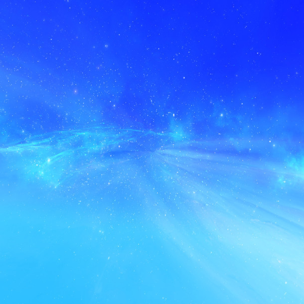 blu brillante distanziati