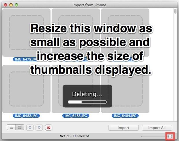Gli utenti Mac possono rimuovere più rapidamente le foto del rullino fotografico da iPhone con Anteprima