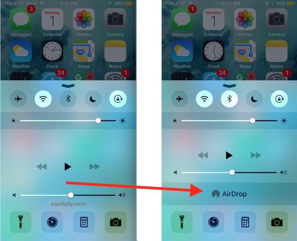 AirDrop non viene visualizzato in iOS è facile da risolvere