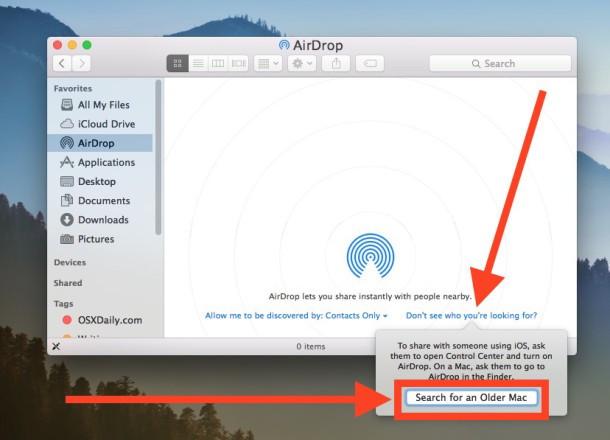 Abilita la modalità di compatibilità AirPort nascosta in Mac OS X