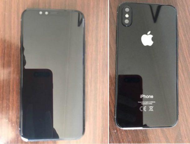 Modello di unità fittizie iPhone 8