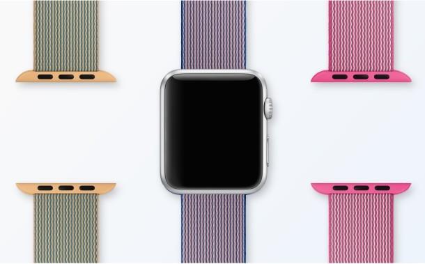 Cinturini in nylon Apple Watch