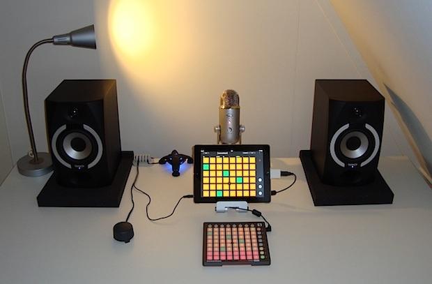 ipad-minimalista-musica-studio-setup