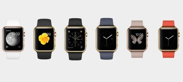 Modelli Apple Watch Gold