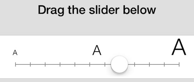 Cambia la dimensione del carattere dei messaggi in iOS 7 per iPhone