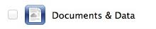 Disattiva Documenti e Dati per iCloud