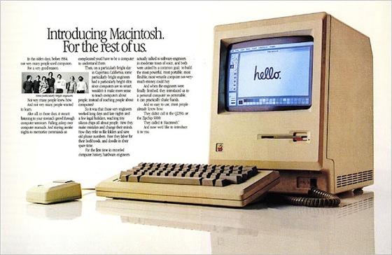 Annuncio stampa originale Macintosh