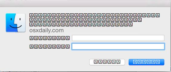 Caratteri che vengono visualizzati erroneamente in Mac OS X
