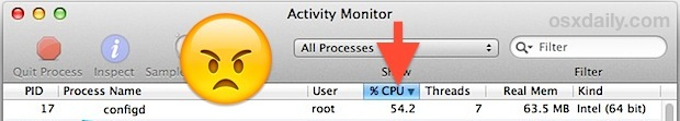 Fix configd impazzito in Mac OS X