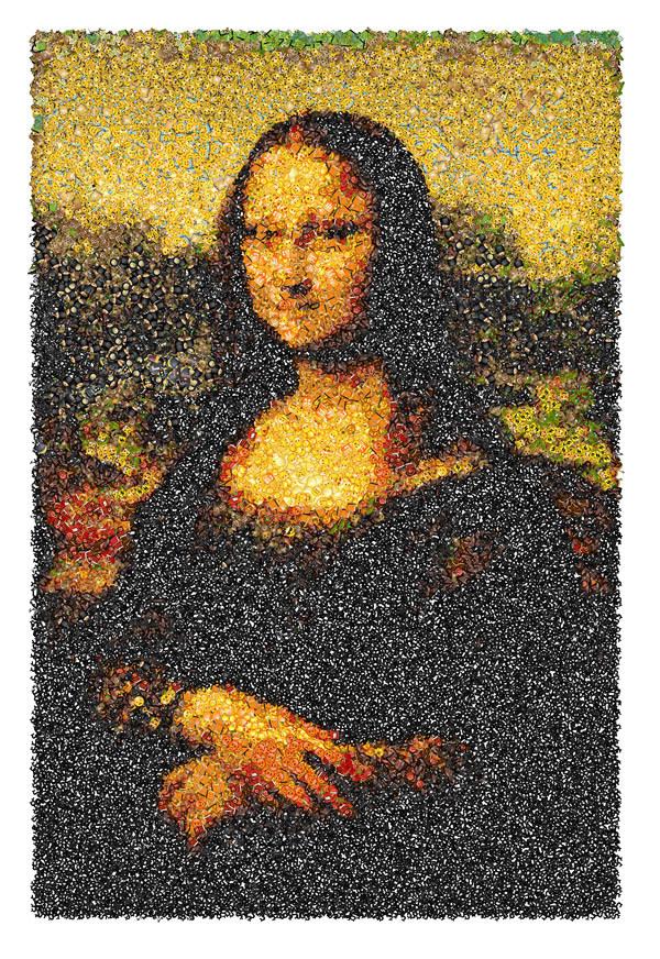 Emoji Mona Lisa