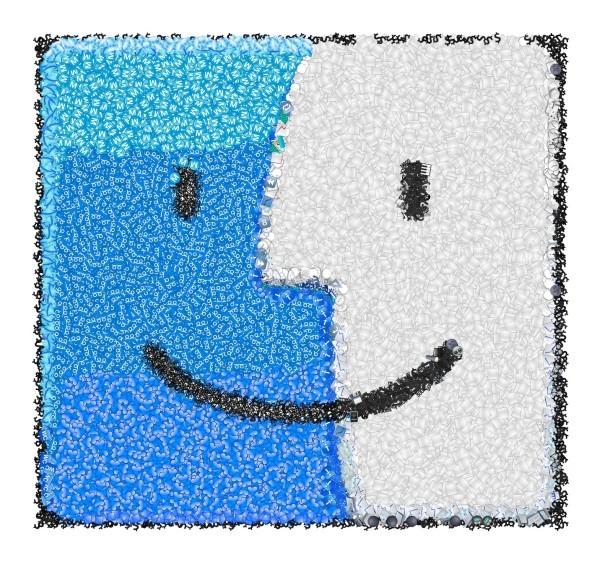 Icona del cercatore fatta da Emoji
