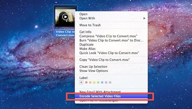 Convertitore da video a audio in Mac OS X Lion