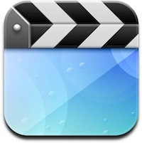 Icona dell'app video in iOS