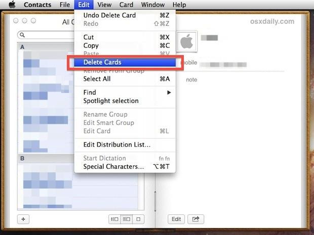 Elimina tutti i contatti da iPhone nel modo più rapido