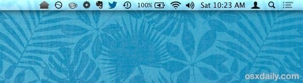 Nascondi l'icona del menu di notifica di Chrome