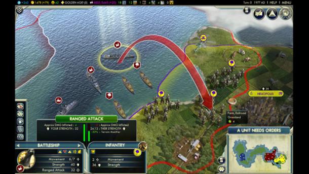 Civilization V mac screenshot