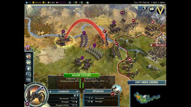 Schermate di Civilization V mac