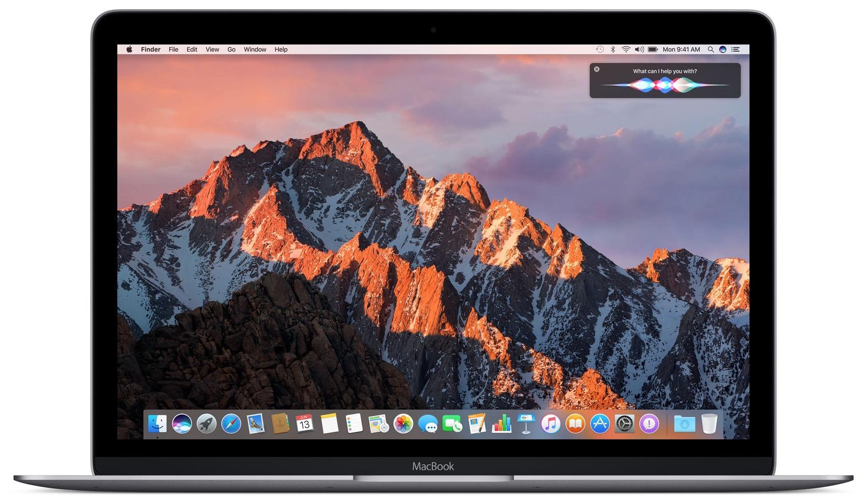 MacOS Sierra su un Mac