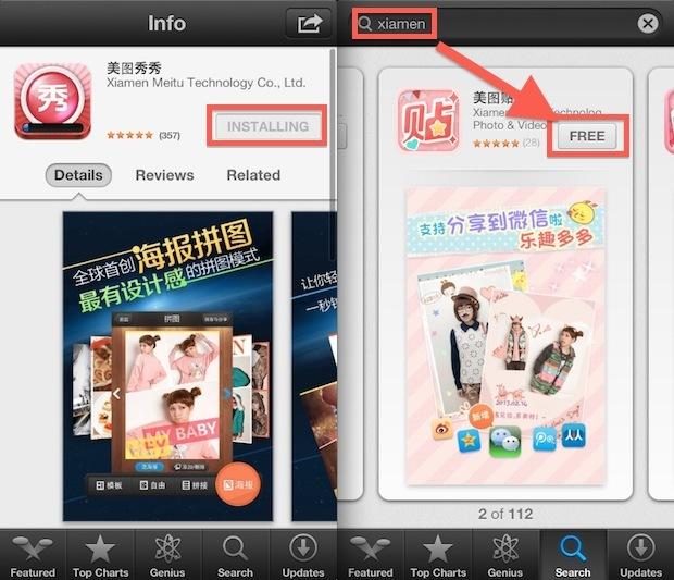 Scarica App App Store straniere su dispositivi iOS