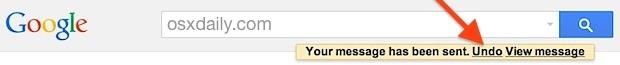 Annulla invio in Gmail ti consente di richiamare un messaggio email inviato