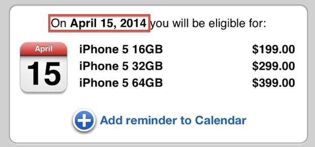 Scopri quando iPhone è idoneo per l'aggiornamento