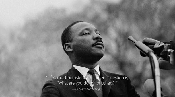 Carta da parati famosa citazione di MLK Jr da Apple.com