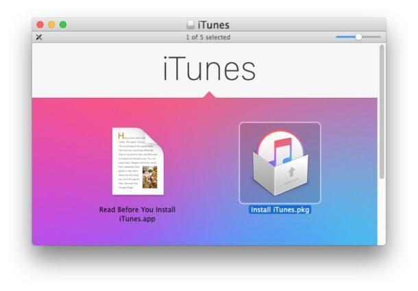 Installa iTunes 12.6.3 con App Store