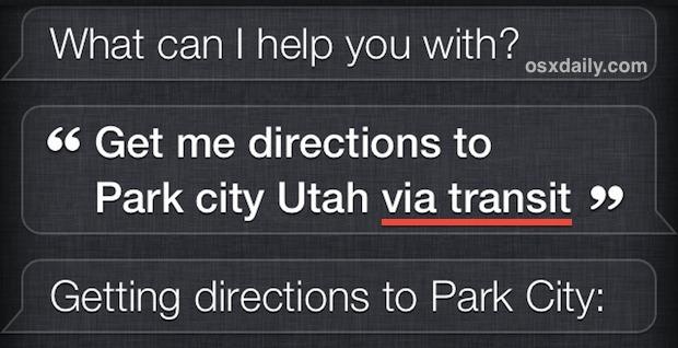 Chiedendo a Siri indicazioni su Google Maps anziché su Apple Maps