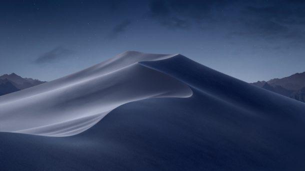 macOS La notte del Mojave si illuminò